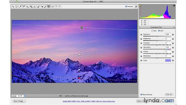 Creative effects with the Graduated Filter: Photoshop CS5 for Photographers: Camera Raw 6
