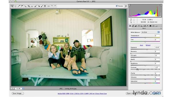 Toning a color photo creatively: Photoshop CS5 for Photographers: Camera Raw 6