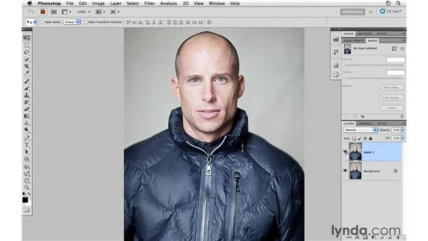 Adding film grain with Camera Raw and Photoshop: Photoshop CS5 for Photographers: Camera Raw 6