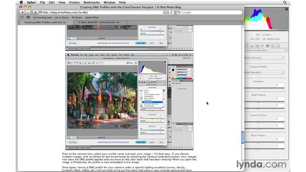 Camera Calibration resources: Photoshop CS5 for Photographers: Camera Raw 6