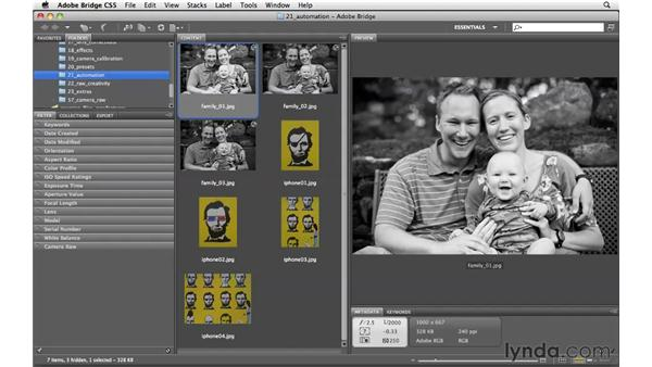 Quick raw processing of multiple files: Photoshop CS5 for Photographers: Camera Raw 6