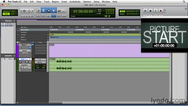 Importing video and setting start code: Film Scoring with Pro Tools