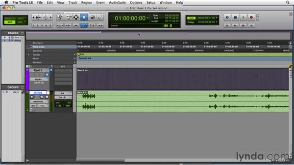 Using FireWire output: Film Scoring with Pro Tools