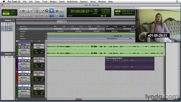 Sharing picture sessions: Film Scoring with Pro Tools