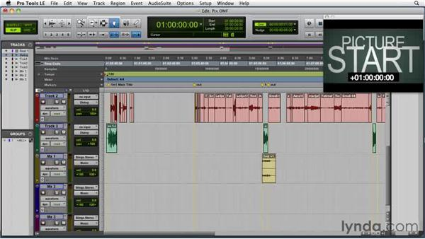 Working with OMFs: Film Scoring with Pro Tools