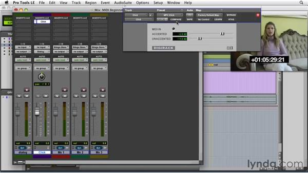 Beginning a MIDI cue: Film Scoring with Pro Tools