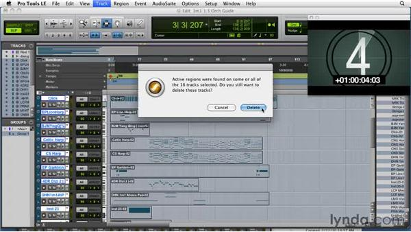 Importing tempo and meter maps: Film Scoring with Pro Tools