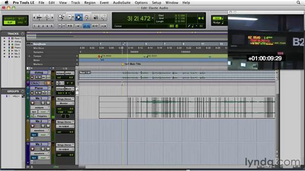 Using Elastic Audio: Film Scoring with Pro Tools