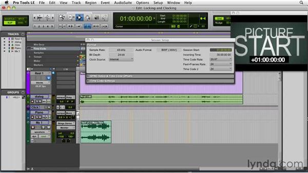 Locking and clocking: Film Scoring with Pro Tools