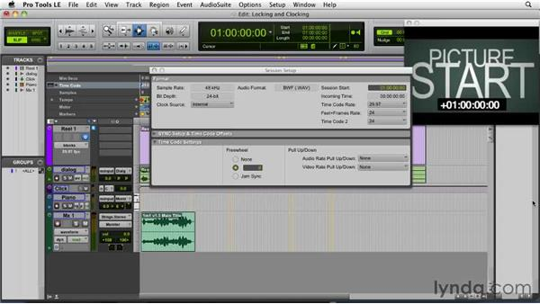 Exploring pull up/pull down: Film Scoring with Pro Tools