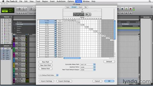 Creating the mix I/O: Film Scoring with Pro Tools