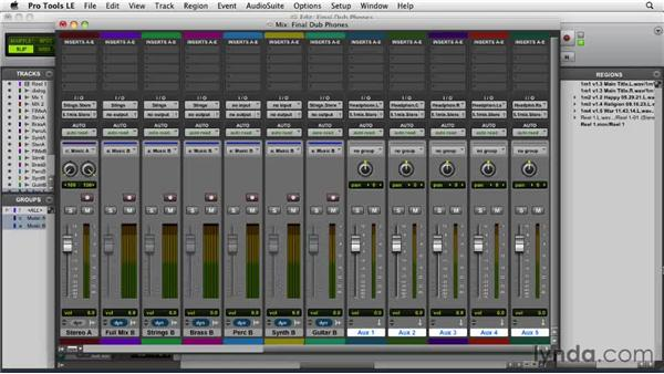 Making a headphone bus: Film Scoring with Pro Tools
