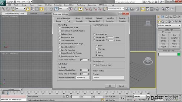 Setting local file paths to relative: 3ds Max 2011 Essential Training