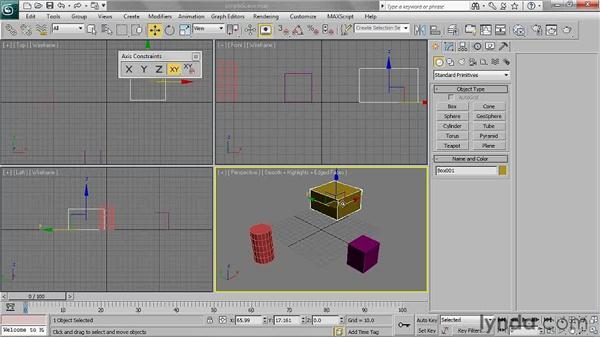Using the toolbars: 3ds Max 2011 Essential Training