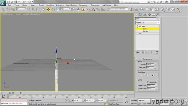 Working with the Modifier Stack: 3ds Max 2011 Essential Training