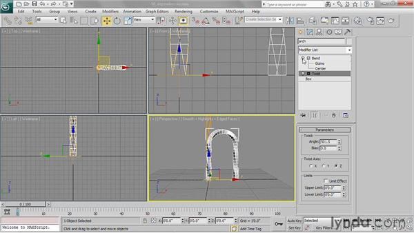 Understanding dependencies: 3ds Max 2011 Essential Training