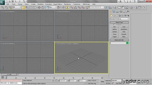 Setting up the project and scene layout: 3ds Max 2011 Essential Training