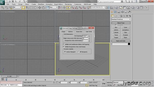 Setting up the scene: 3ds Max 2011 Essential Training