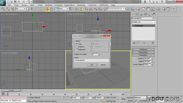 Modeling lines: 3ds Max 2011 Essential Training