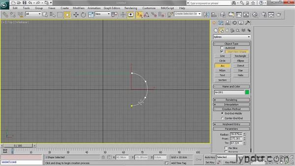 Creating NURBS curves: 3ds Max 2011 Essential Training