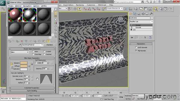 Navigating shader trees: 3ds Max 2011 Essential Training