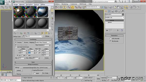 Creating an environment: 3ds Max 2011 Essential Training