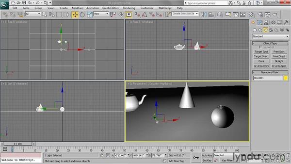 Understanding CG lighting: 3ds Max 2011 Essential Training