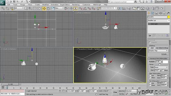 Understanding standard and photometric lights: 3ds Max 2011 Essential Training