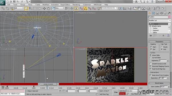 Creating animation in passes: 3ds Max 2011 Essential Training