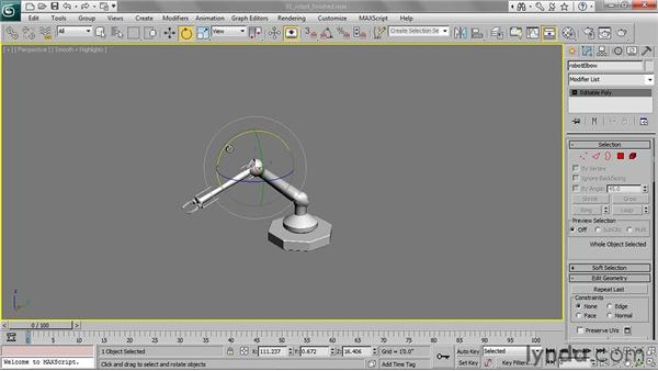 Understanding hierarchies: 3ds Max 2011 Essential Training