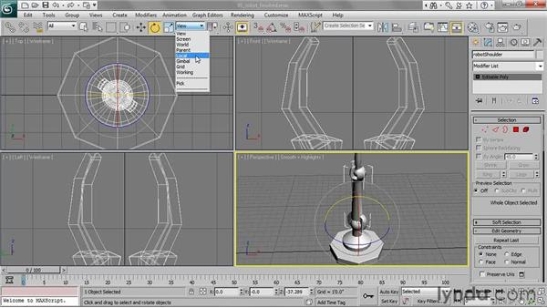 Understanding reference coordinate systems: 3ds Max 2011 Essential Training
