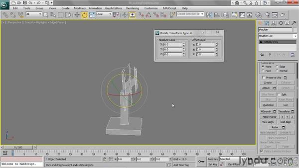 Preventing problems with scale: 3ds Max 2011 Essential Training