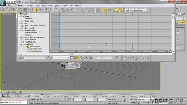 Fine-tuning the animation: 3ds Max 2011 Essential Training