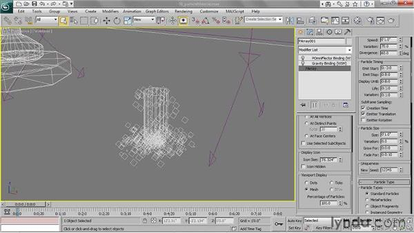 Creating a particle material: 3ds Max 2011 Essential Training