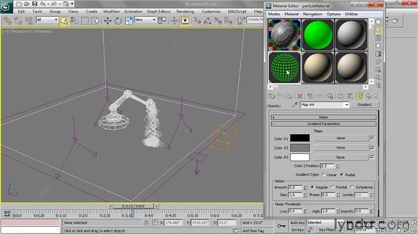 Assigning a material ID G-Buffer channel: 3ds Max 2011 Essential Training