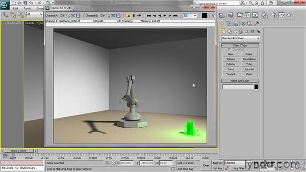 Understanding image sequences: 3ds Max 2011 Essential Training