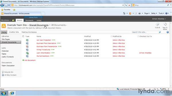 Understanding document management: SharePoint 2010 Getting Started