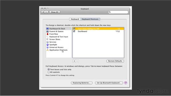 Remapping OS shortcuts: Illustrator CS5 One-on-One: Fundamentals