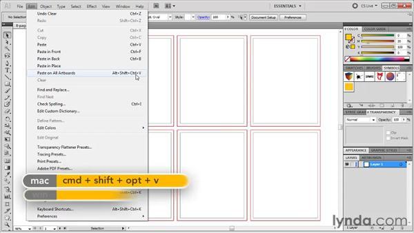 Modifying a document and its setup: Illustrator CS5 One-on-One: Fundamentals