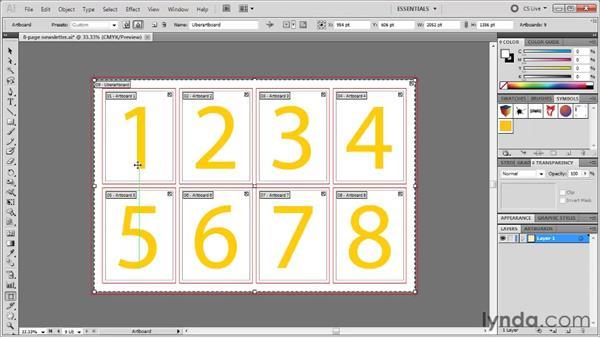 Hidden artboard editing techniques: Illustrator CS5 One-on-One: Fundamentals