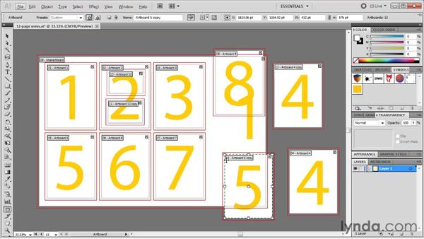 Exiting and entering the Artboard mode: Illustrator CS5 One-on-One: Fundamentals