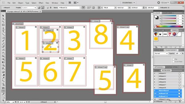 Using the new Artboards panel: Illustrator CS5 One-on-One: Fundamentals