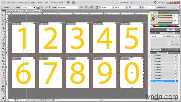 Rulers and artboards: Illustrator CS5 One-on-One: Fundamentals