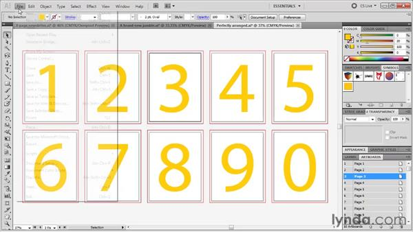 Closing all open documents: Illustrator CS5 One-on-One: Fundamentals