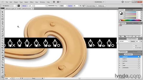 Using tools to zoom and pan: Illustrator CS5 One-on-One: Fundamentals
