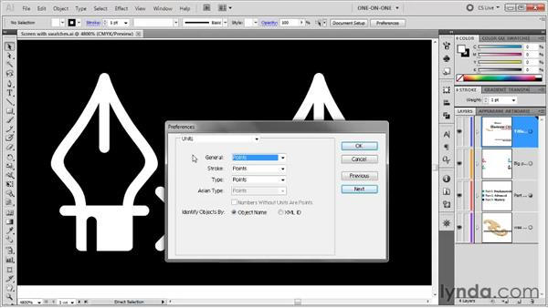 Type, units, and scratch disks: Illustrator CS5 One-on-One: Fundamentals