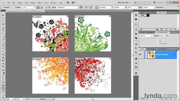 Scaling your artwork for Bridge: Illustrator CS5 One-on-One: Fundamentals