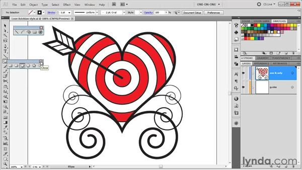 Meet the line tools: Illustrator CS5 One-on-One: Fundamentals