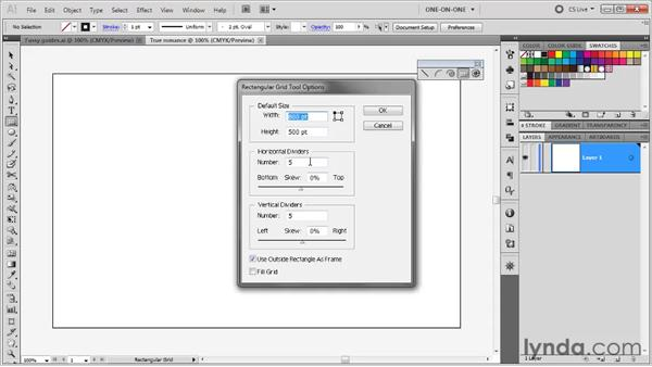 Creating custom guides: Illustrator CS5 One-on-One: Fundamentals