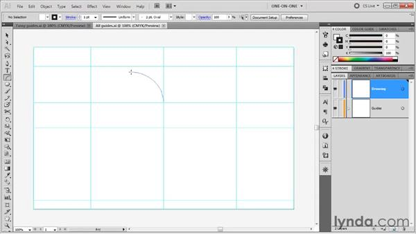 Creating a heart using arcs: Illustrator CS5 One-on-One: Fundamentals
